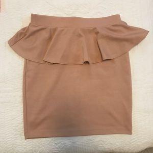 Dresses & Skirts - SKIRT - peplum waist